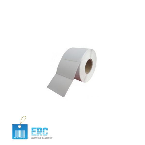 Opak Polipropilen (PP) Etiket Erc Barkod ve Etiket