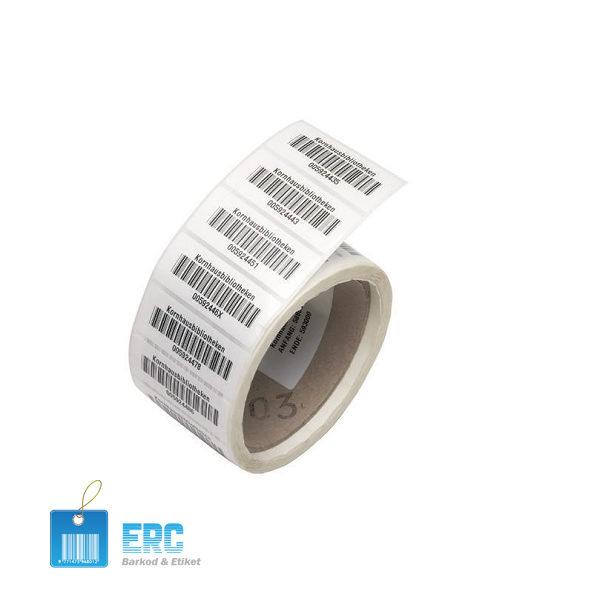 Data Polietilen (PE) Etiket ErcBarkod