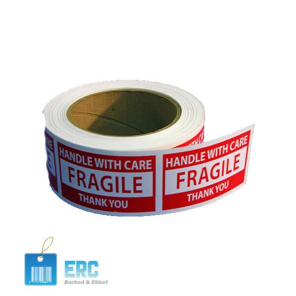 Kırılgan Etiket (Güvenlik Etiketi) – Ercbarkod